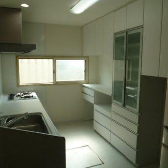 江別市 キッチンリフォーム施工例 戸建住宅
