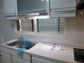 キッチン施工後 内窓