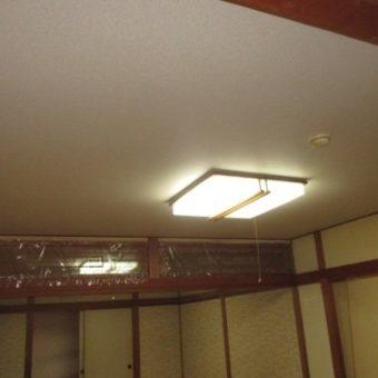 和室天井、断熱材入れ替えクロス仕上げでリフレッシュ! 札幌市