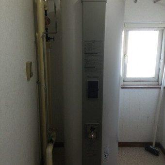 丸型電気温水器交換工事 妹背牛町