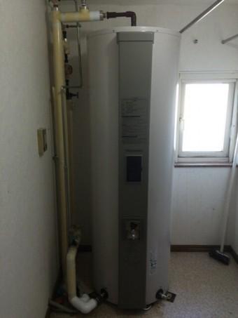 タカラスタンダード丸型スリムタイプ 460L給湯専用電気温水器