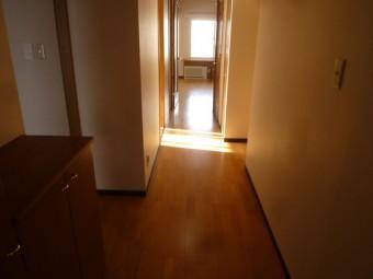 廊下フローリング