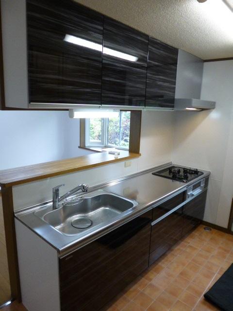 ぴったりサイズ木製システムキッチン『グレーシア(GRACIA)』/I型255㎝タイプ