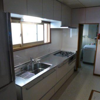 クリナップのシステムキッチン【ラクエラ】でナチュラルに過ごせるキッチン空間へ 札幌市