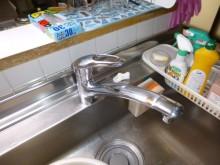 既存システムキッチン水栓