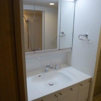 オーダー洗面化粧台でマンションの特注サイズにぴったり事例!札幌市