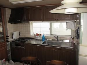 既存キッチン35