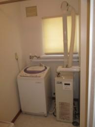 洗濯機給湯器
