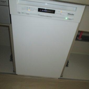 ミーレの食器洗い乾燥機設置で、クオリティの高い快適キッチンへ!北広島市