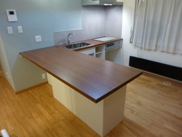 オーダーL型システムキッチン2