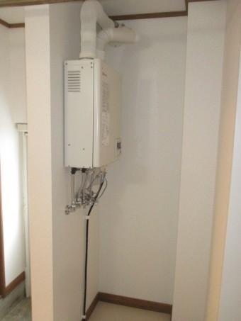 壁掛けタイプ給湯器