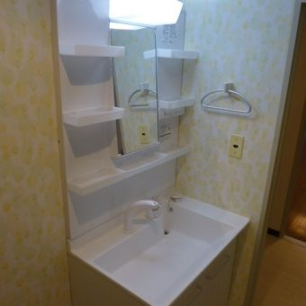 LIXIL洗面化粧台『PVシリーズ』で機能性&デザイン性アップ!!札幌市