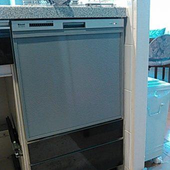 リンナイ製ビルトイン食器洗い乾燥機へ交換!札幌市