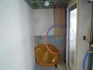 壁天井ボード撤去