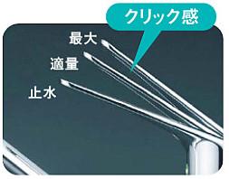 エコタイプ水栓クリック2