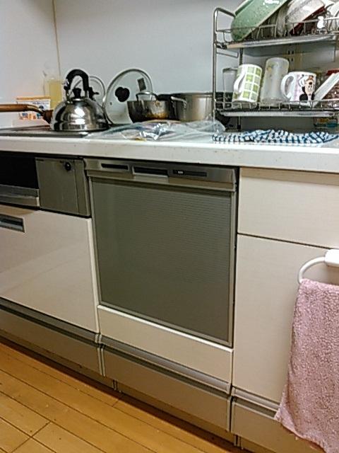 パナソニック製ビルドイン食器洗い乾燥機(品番:NP-45MS7S)
