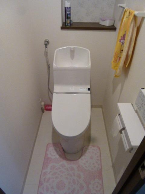 TOTOのウォッシュレット一体形便器『HV/手洗いあり』