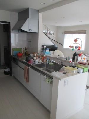 施工前食器洗い乾燥機