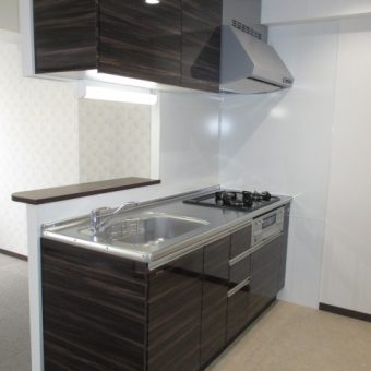 リノベーション工事、快適システムキッチン空間へ!札幌市
