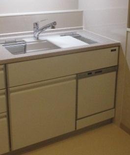 シンク下食器洗い乾燥機