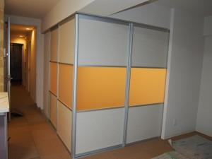 施工後和室扉
