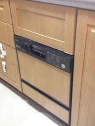 施工前食洗機