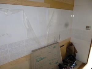 ホーロークリーンパネル施工2