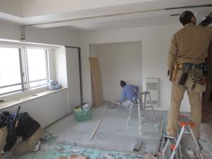 施工中作業