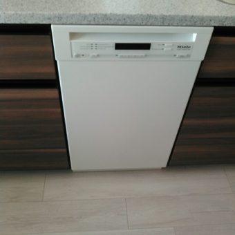 既存のミーレ食器洗い機を住み替えるマンションへ移設施工事例!札幌市