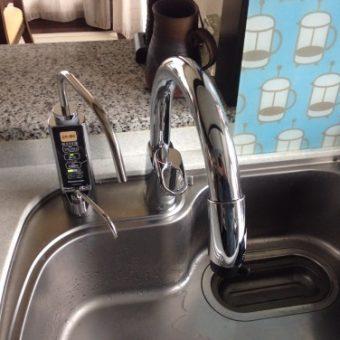 シンク廻りはすっきり快適 デザイン水栓でお洒落にカッコよく 札幌市