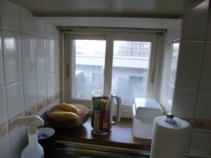 キッチン施工前窓