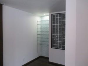 ガラス棚板