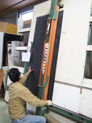札幌オーダー家具工房 工場