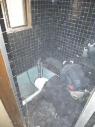 浴室解体2