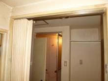 旧アコーディオンカーテン