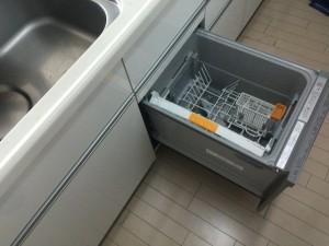 食器洗い乾燥機取付完了