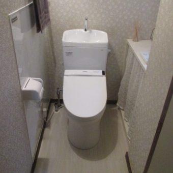 TOTOトイレ『ピュアレストQR』+ウォッシュレット『S1J』へリフォーム!北広島市
