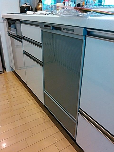 パナソニック製ディープタイプエコナビ付き食洗乾燥機(品番:NP-45MD7S)