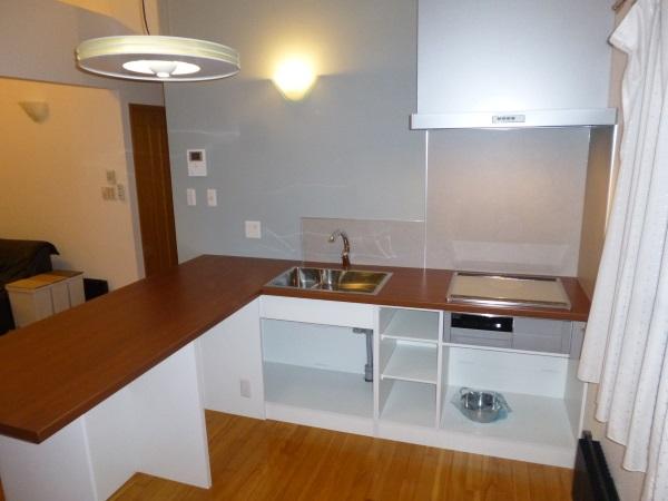 オーダーL型システムキッチン3