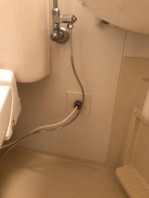 トイレ施工・配線