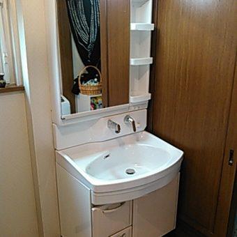 タカラのホーロー洗面化粧台『オンディーヌ』でキレイが続く洗面リフォーム!札幌市