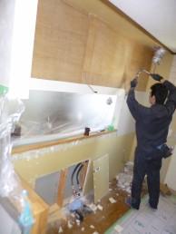 既存キッチン解体2