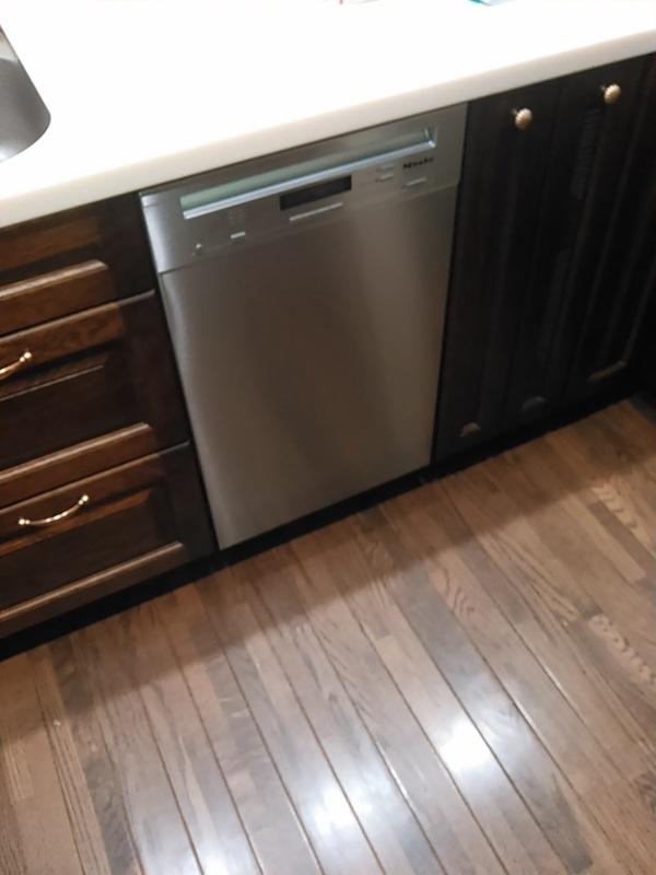 ドイツ・ミーレ(Miele)ドア材取付専用タイプ 食器洗い乾燥機