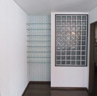スリガラスからガラスブロックへ、より明るくモダンな空間へ!札幌市