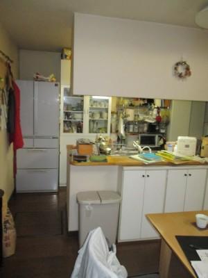 施工前システムキッチン