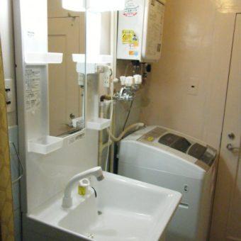 使いやすさとお求めやすい価格の「MX」へ洗面化粧台交換 中央区N様邸
