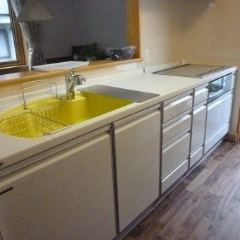 シックハウス対応 システムキッチンリフォームで安心な暮らし!札幌市
