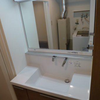 札幌市 TOTO【オクターブ】にリフォームで空間と時間にゆとりの洗面空間へ