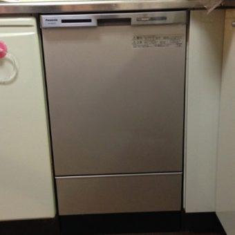 パナソニック エコナビ付ビルトイン食器洗い乾燥機交換 札幌市
