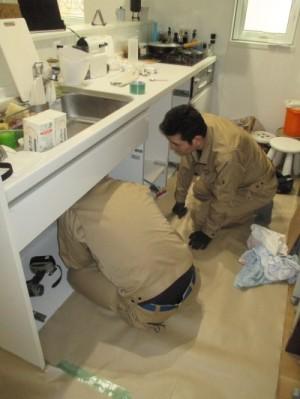 食器洗い乾燥機取り外し